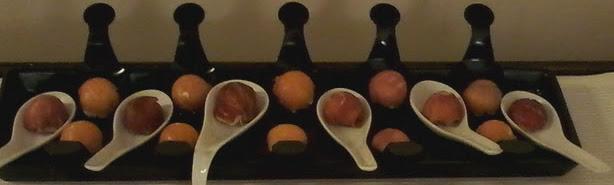 bombón de jamón/salmón